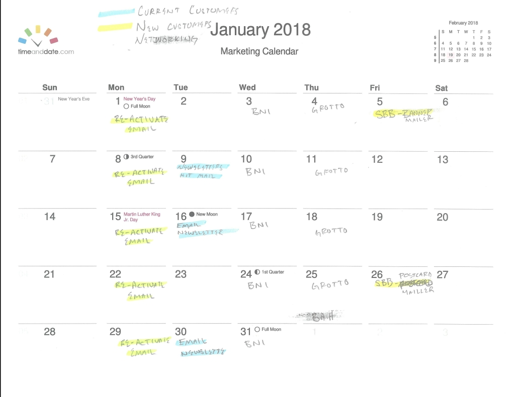 January Marketing Plan